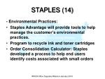 staples 14