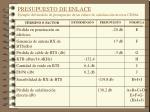 presupuesto de enlace ejemplo del modelo de presupuesto de un enlace de se alizaci n inversa cdma1