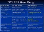 nys rea grant design