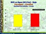 bvo vs gua 40 l ha soja ferrugem curativo desfolha pr colheita 2 reas