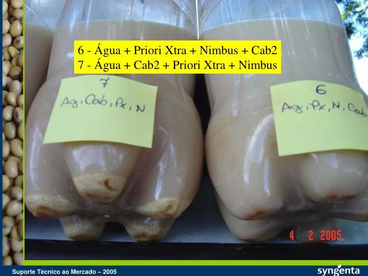 6 - Água + Priori Xtra + Nimbus + Cab2