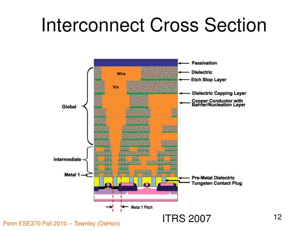 Interconnect Cross Section