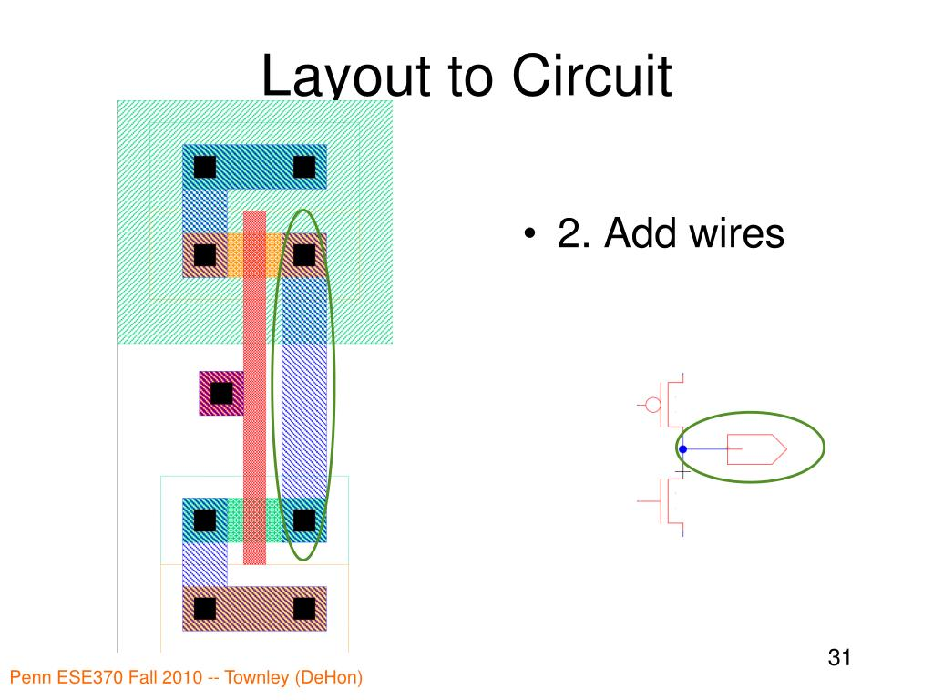Layout to Circuit
