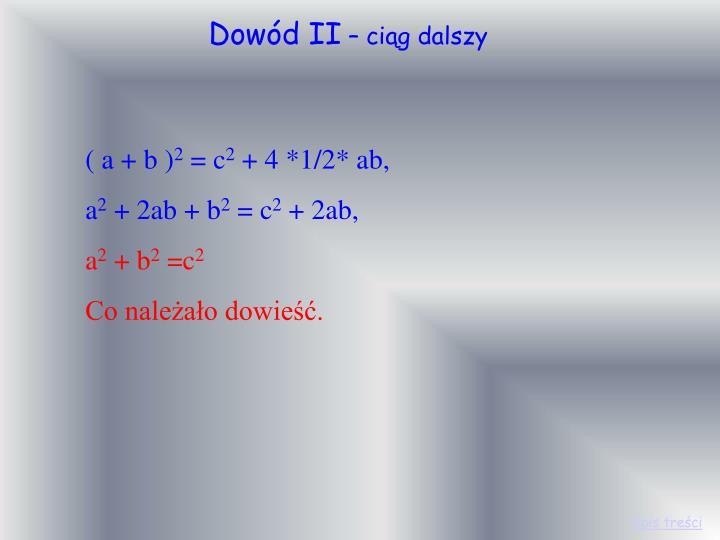 Dowód II
