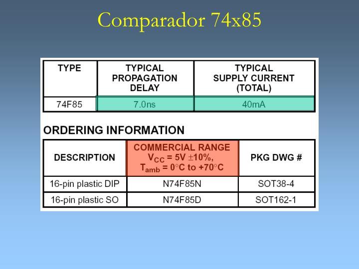 Comparador 74x85