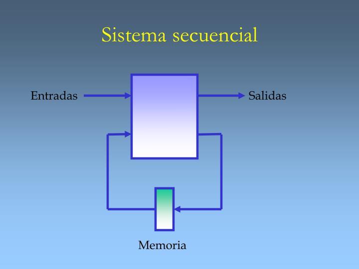 Sistema secuencial