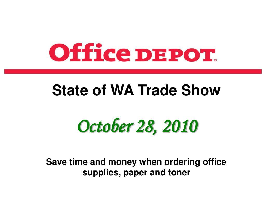 State of WA Trade Show