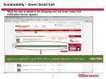 sustainability green smart cart23