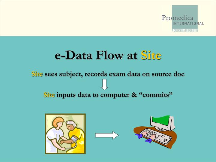 e-Data Flow at