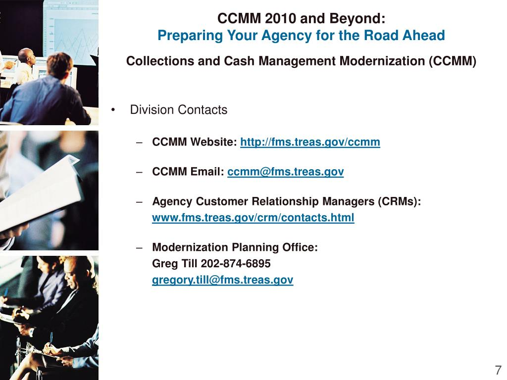CCMM 2010 and Beyond: