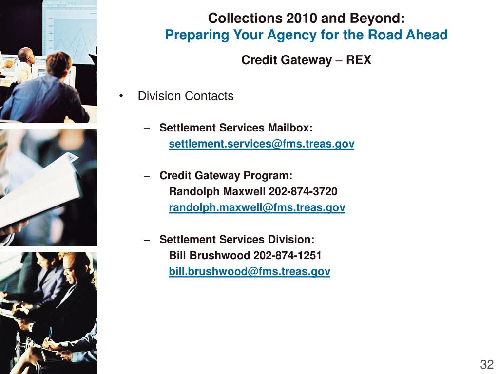 Collections 2010 and Beyond: