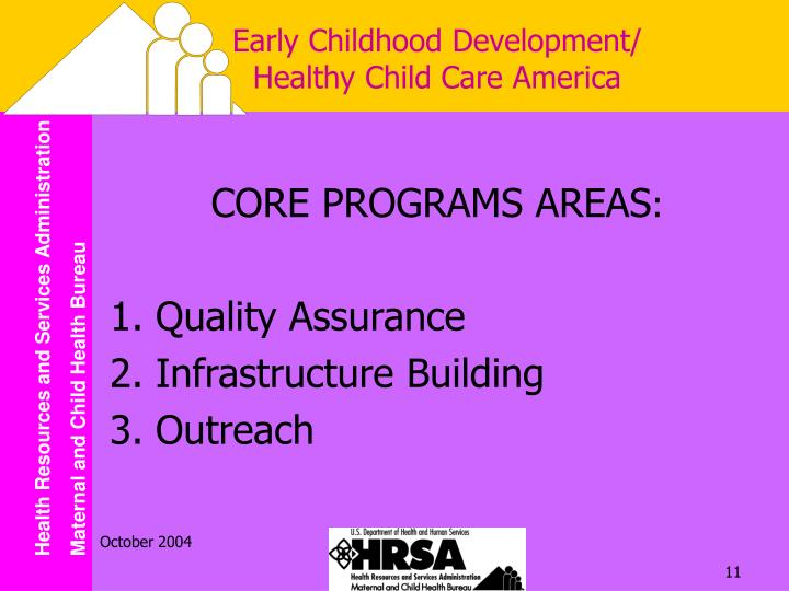 Early Childhood Development/