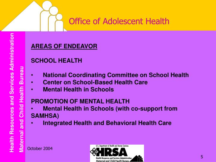 Office of Adolescent Health