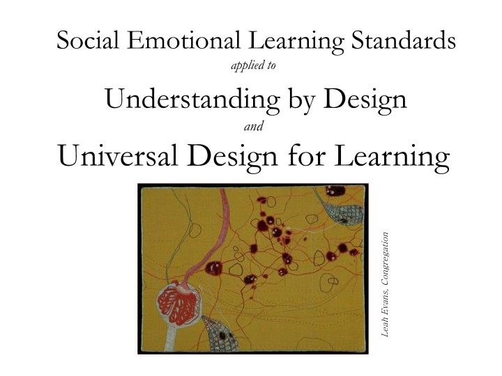 Social Emotional Learning Standards