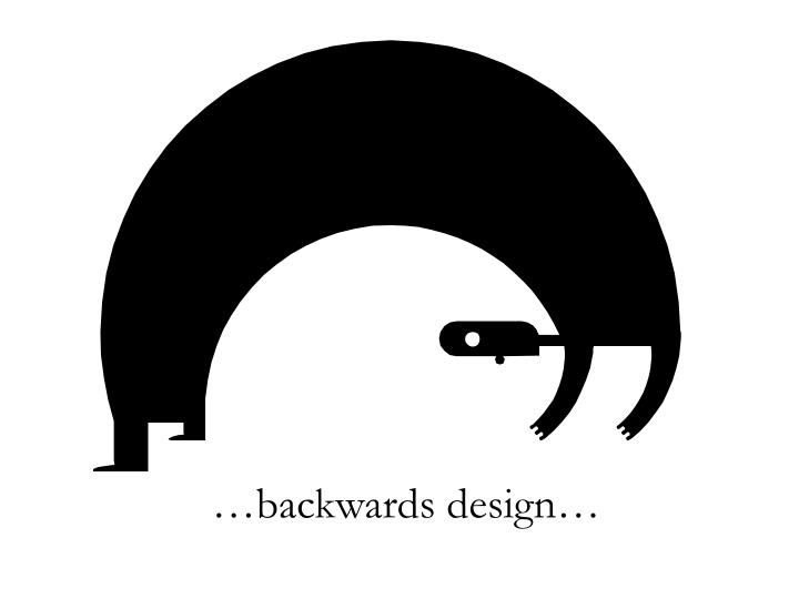 …backwards design…