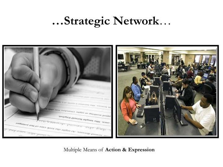 …Strategic Network