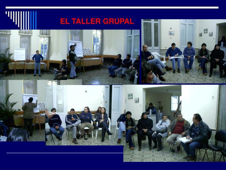 EL TALLER GRUPAL