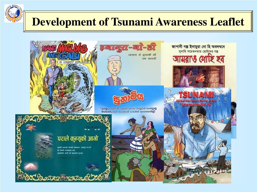 Development of Tsunami Awareness Leaflet