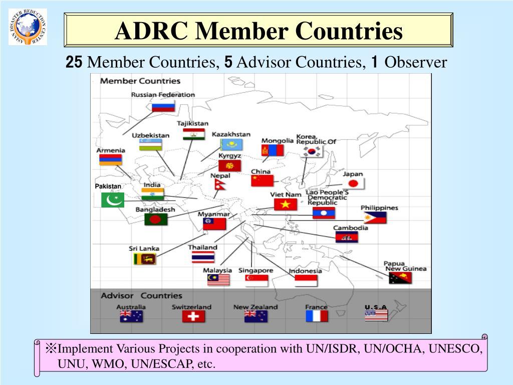 ADRC Member Countries