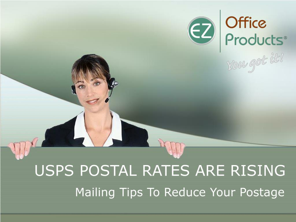 USPS POSTAL RATES ARE RISING