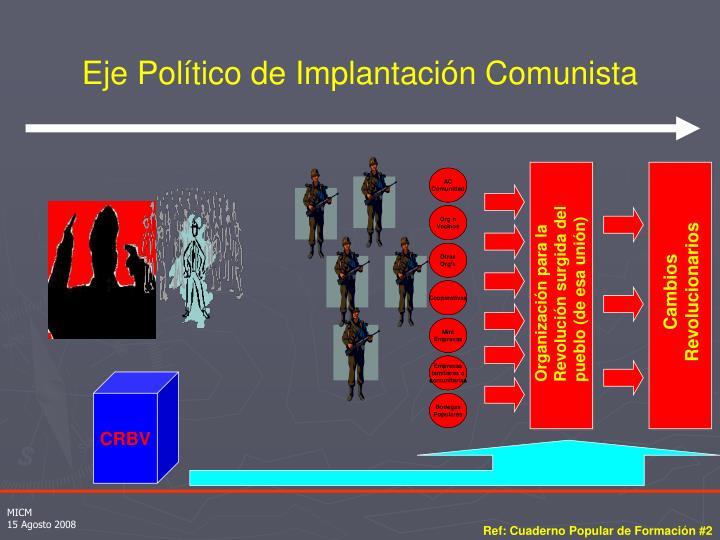 Eje Político de Implantación Comunista
