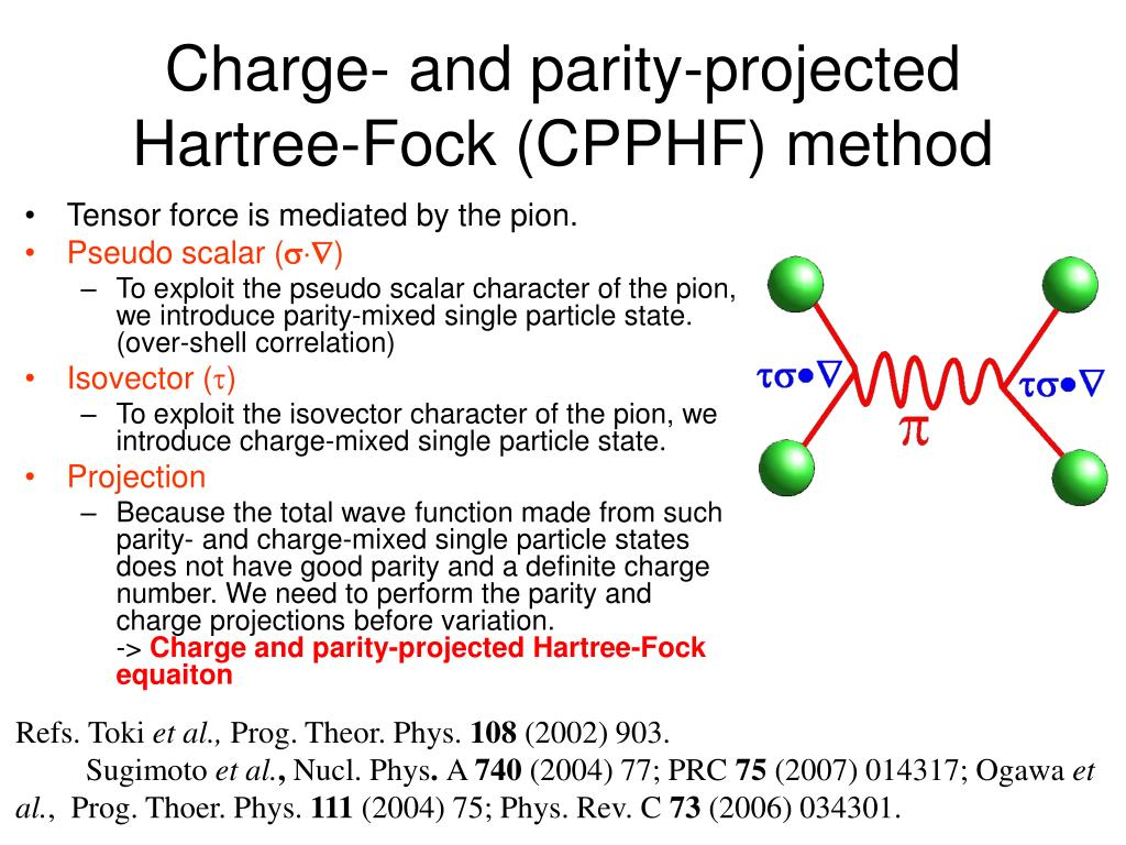 Charge- and parity-projected Hartree-Fock (CPPHF) method
