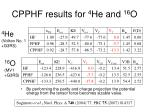 cpphf results for 4 he and 16 o