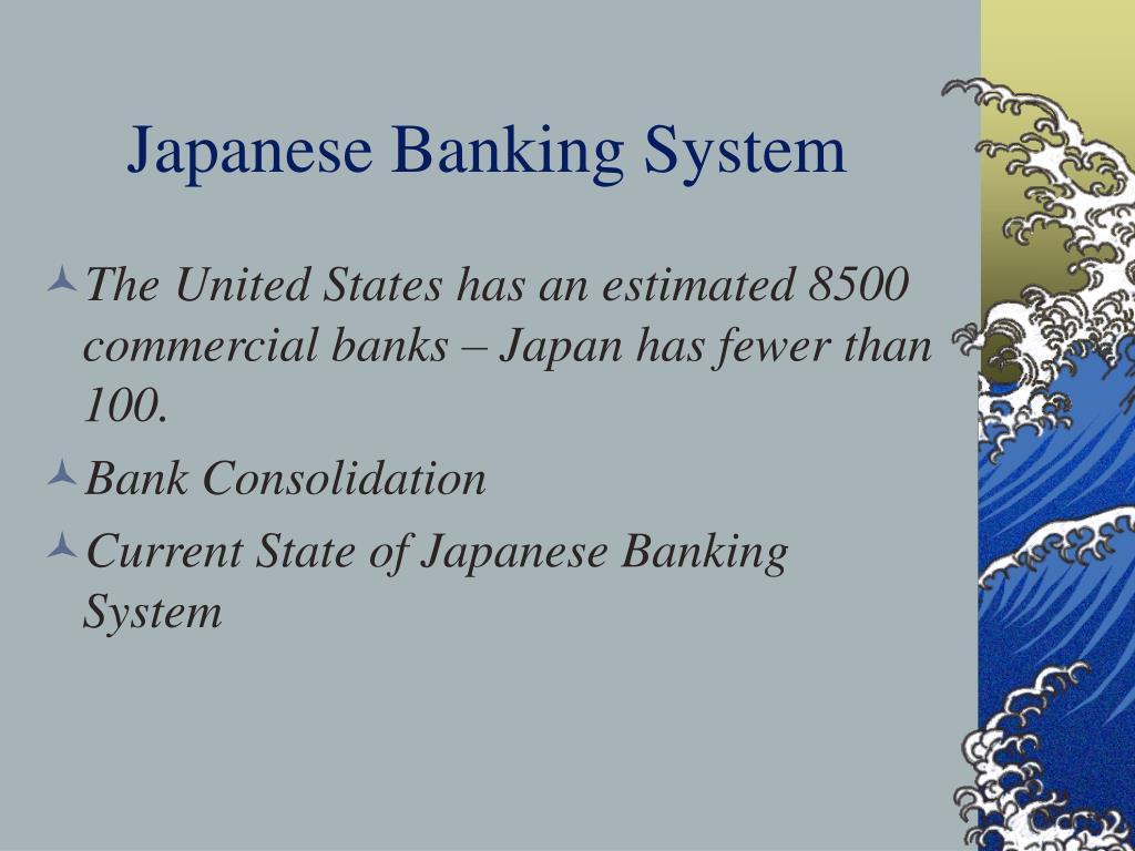 Japanese Banking System