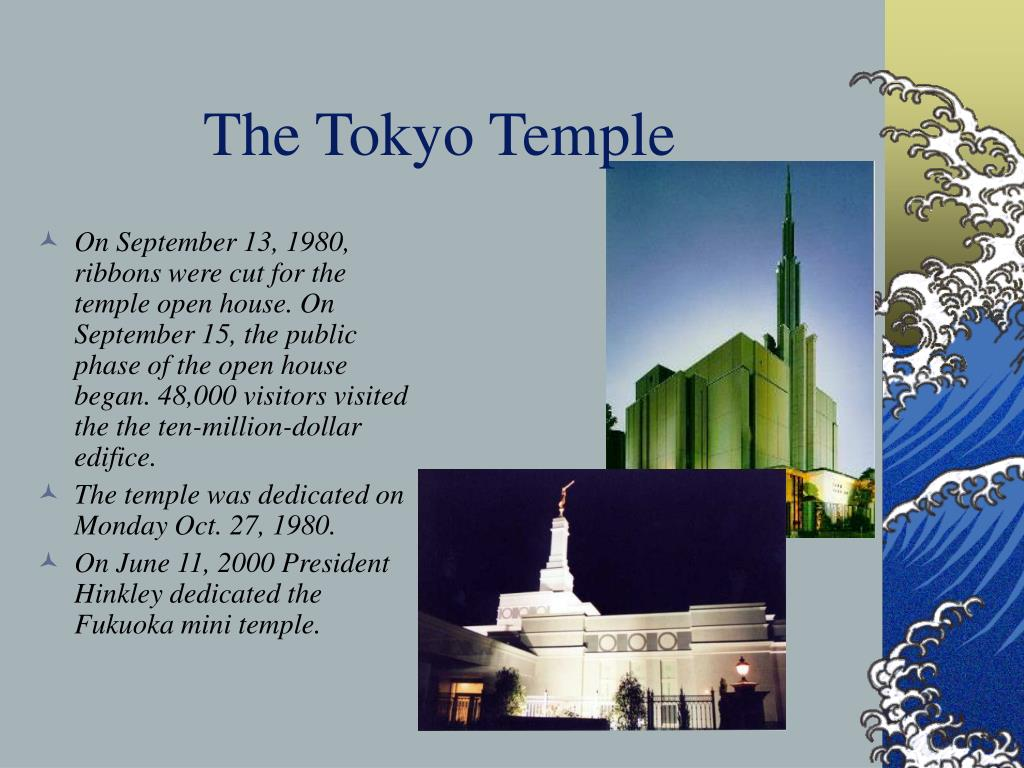 The Tokyo Temple