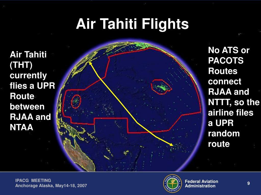 Air Tahiti Flights