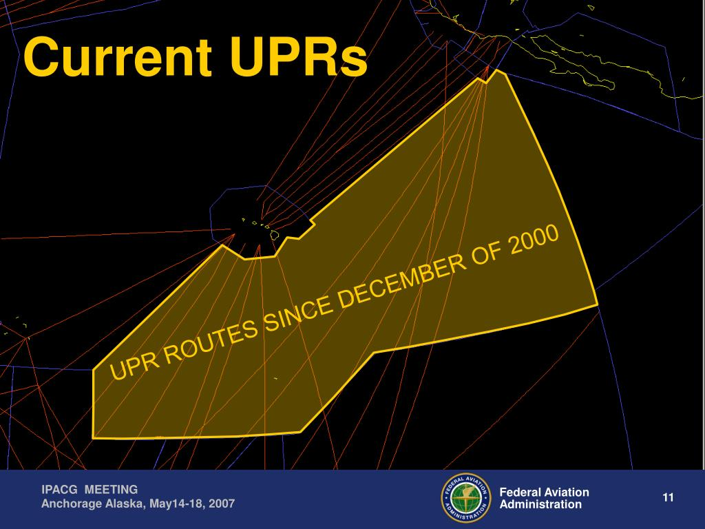 Current UPRs