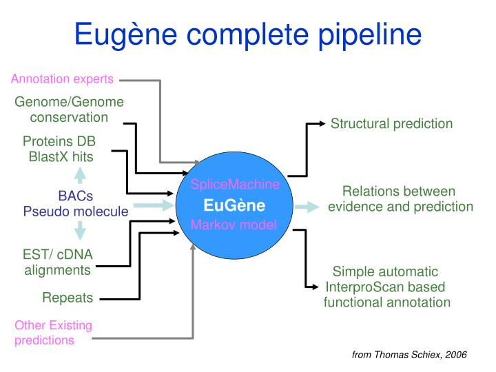 Eugène complete pipeline