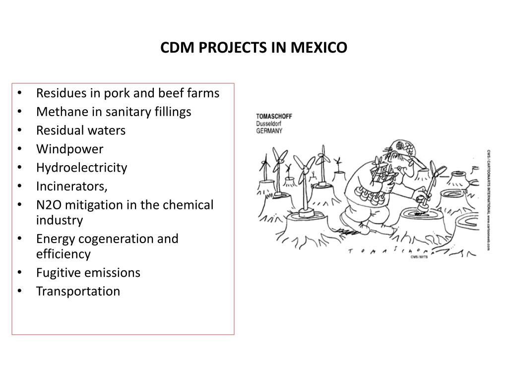 CDM PROJECTS IN MEXICO