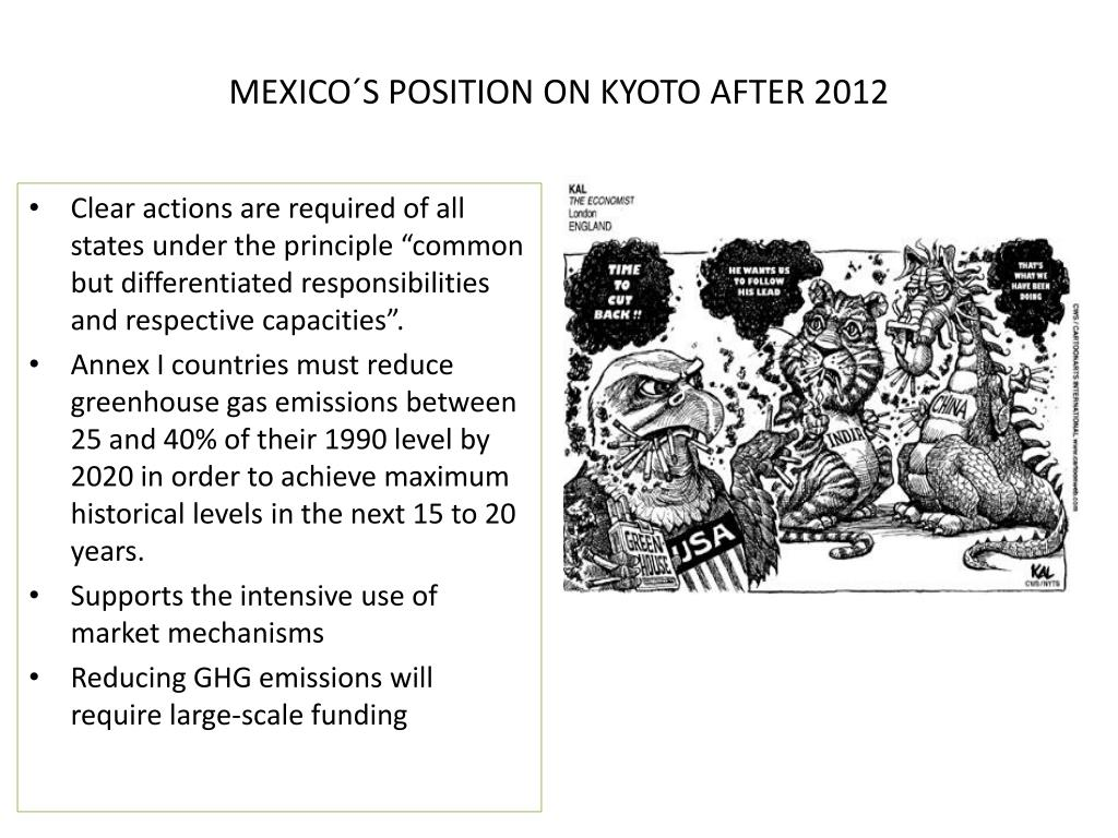 MEXICO´S POSITION ON KYOTO AFTER 2012