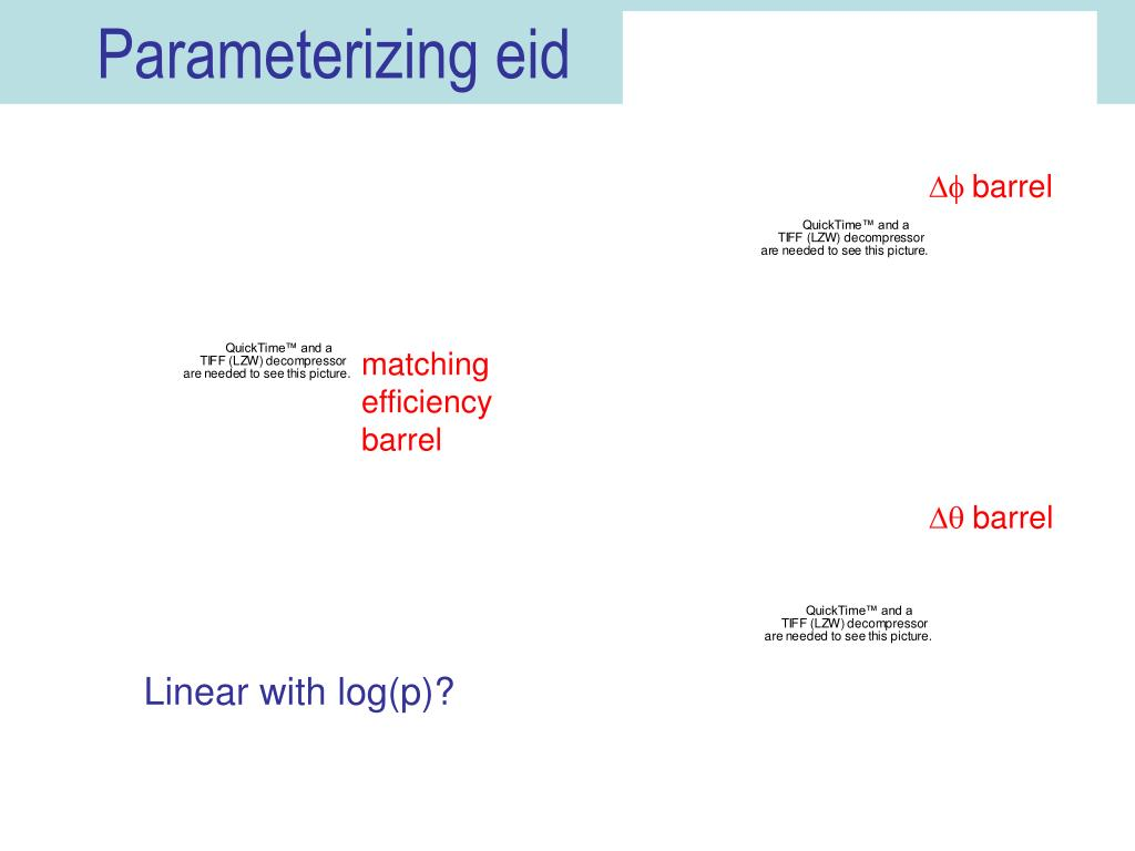 Parameterizing eid