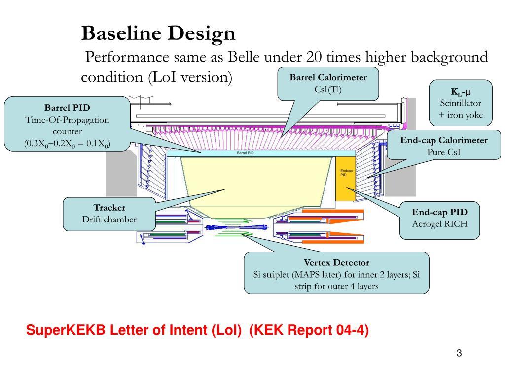 Baseline Design