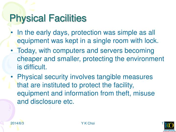 Physical Facilities