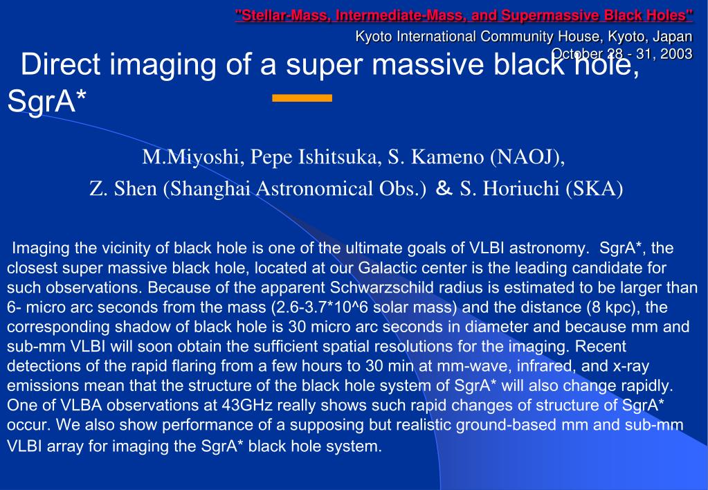 """Stellar-Mass, Intermediate-Mass, and Supermassive Black Holes"""