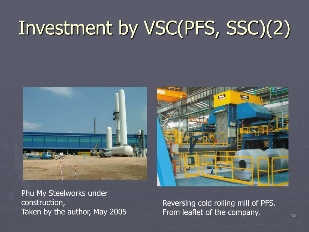Investment by VSC(PFS, SSC)(2)