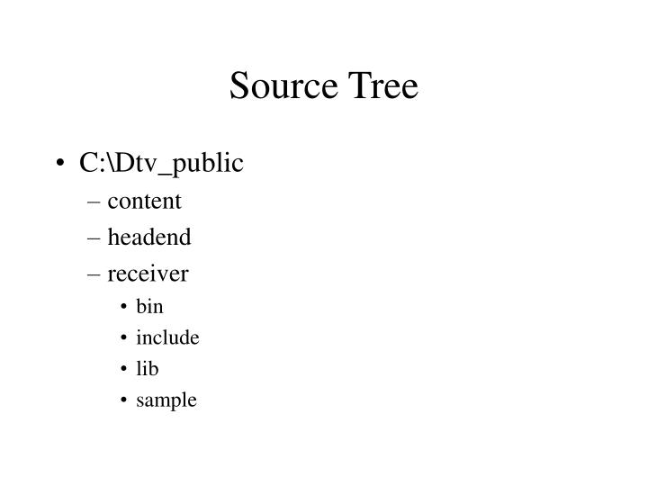 Source Tree
