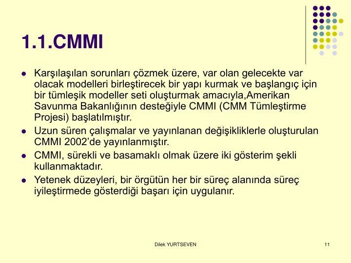 1.1.CMMI