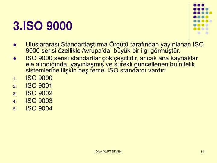 3.ISO 9000