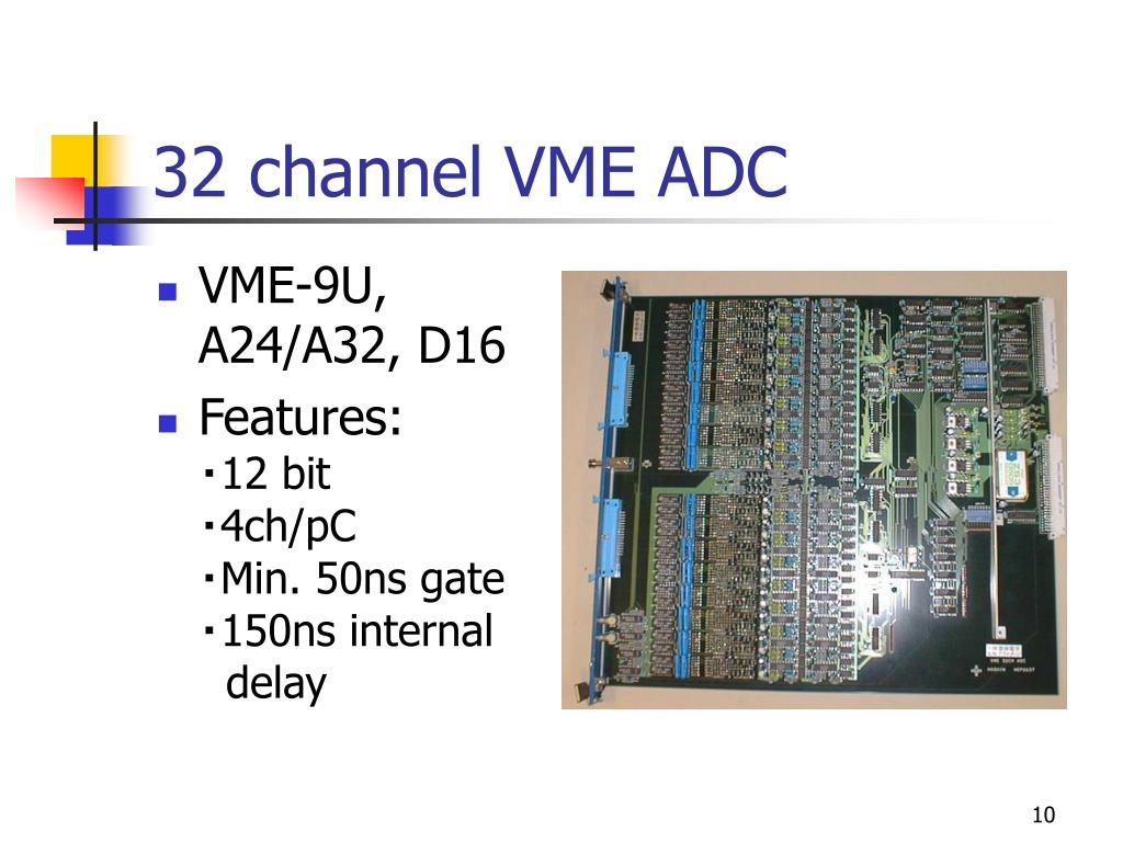 32 channel VME ADC
