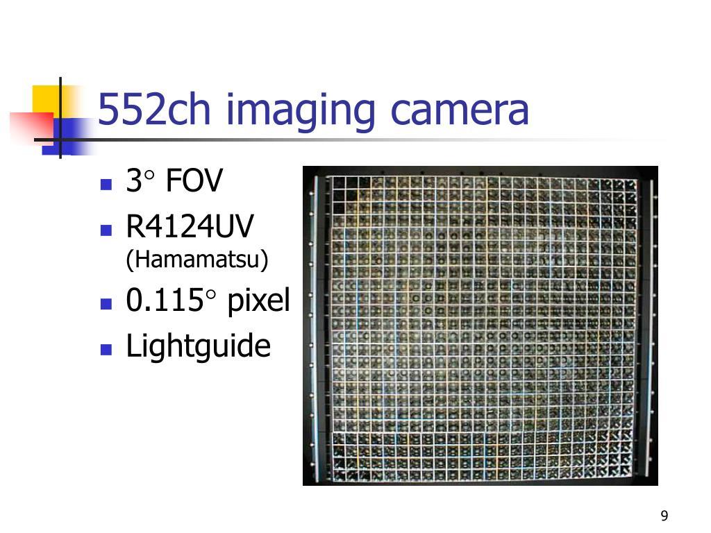552ch imaging camera