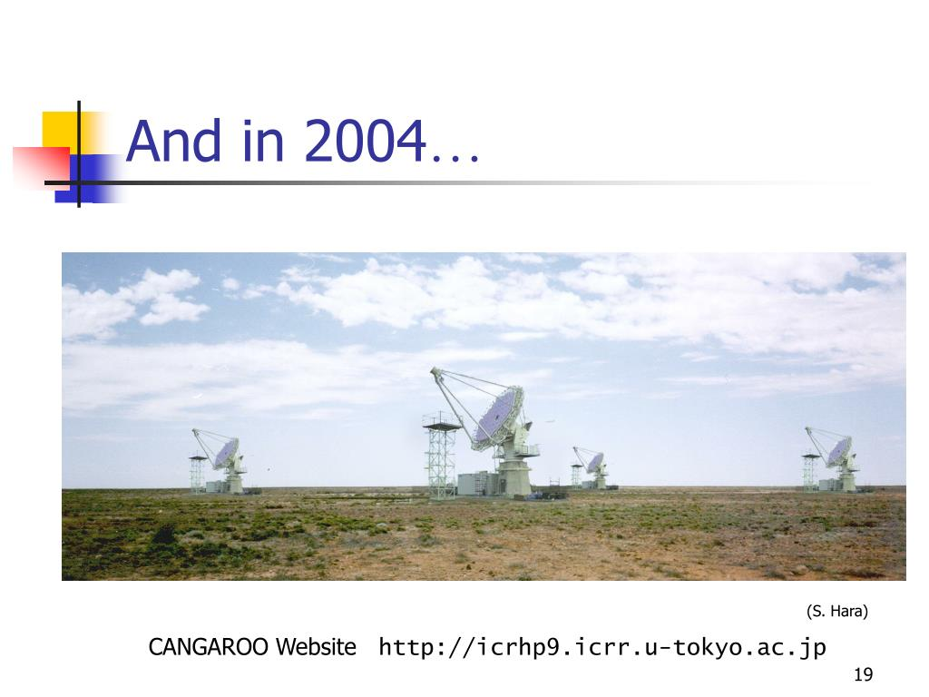 And in 2004