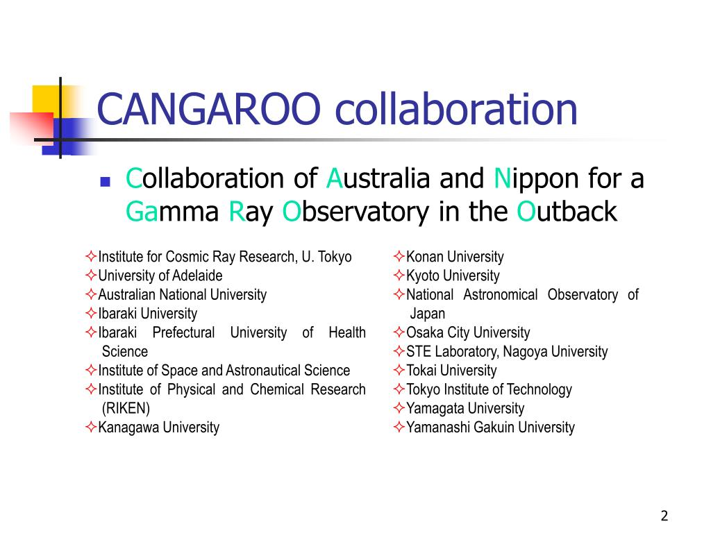 CANGAROO collaboration