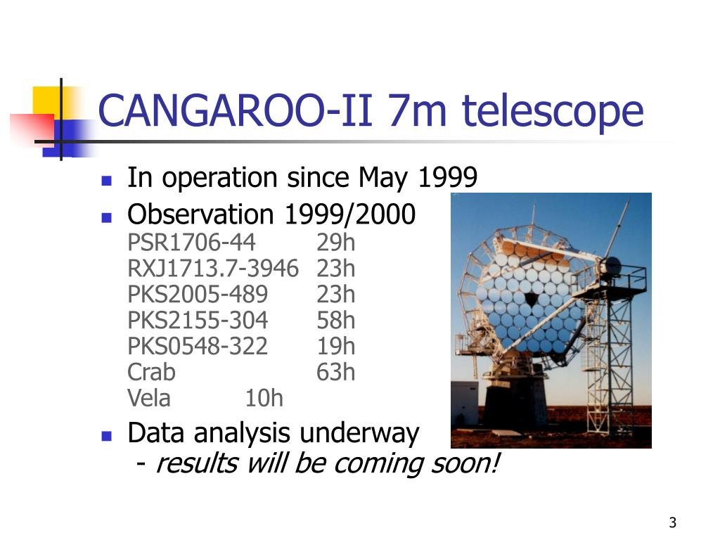 CANGAROO-II 7m telescope