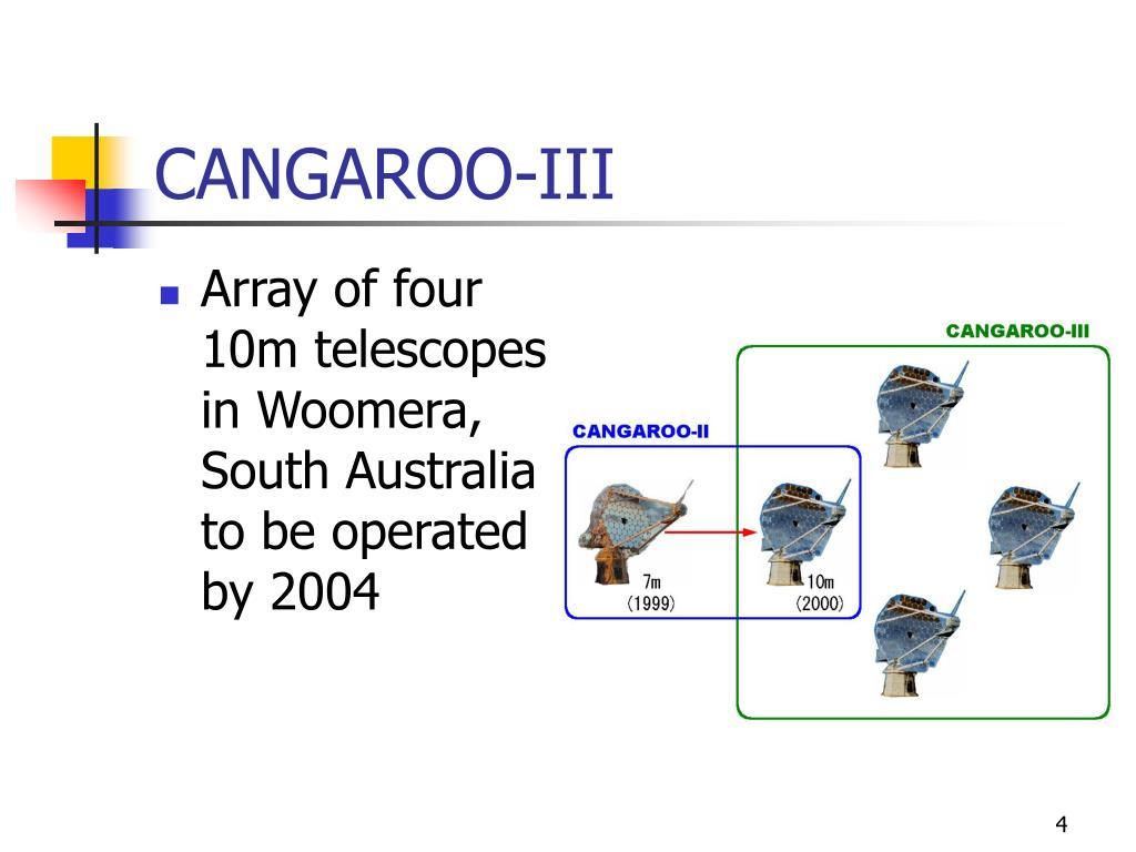 CANGAROO-III