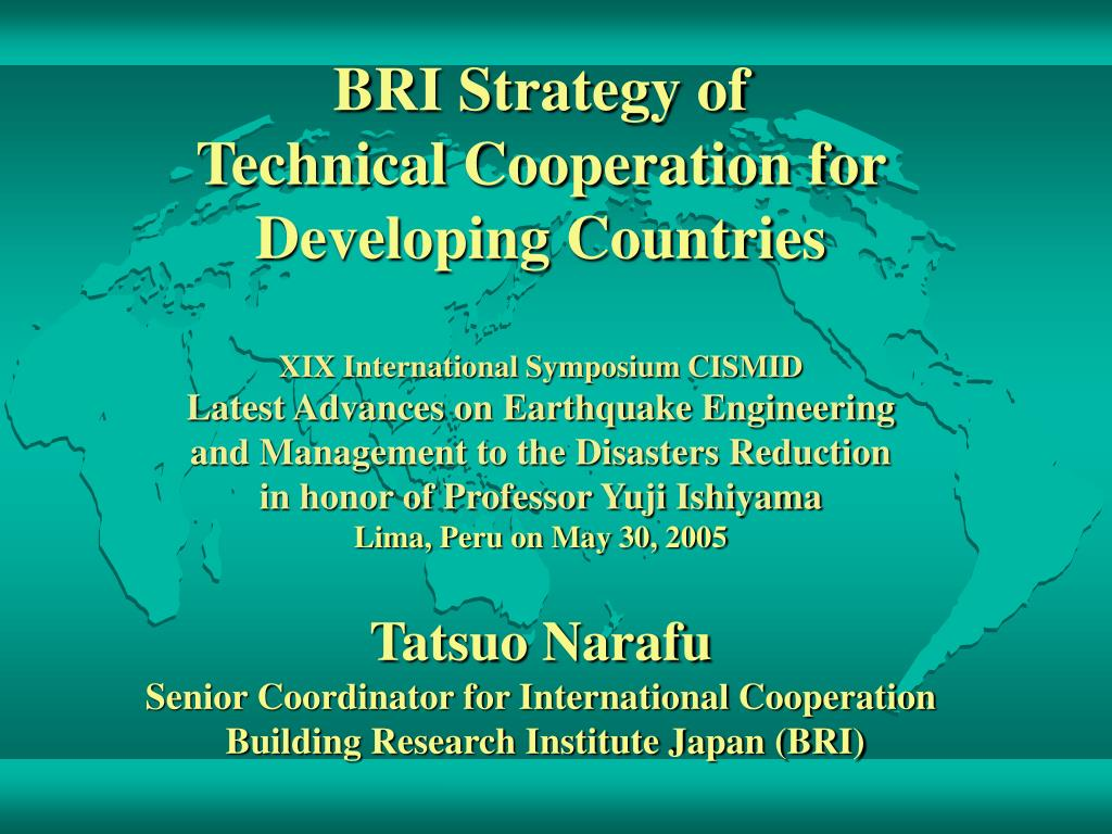BRI Strategy of