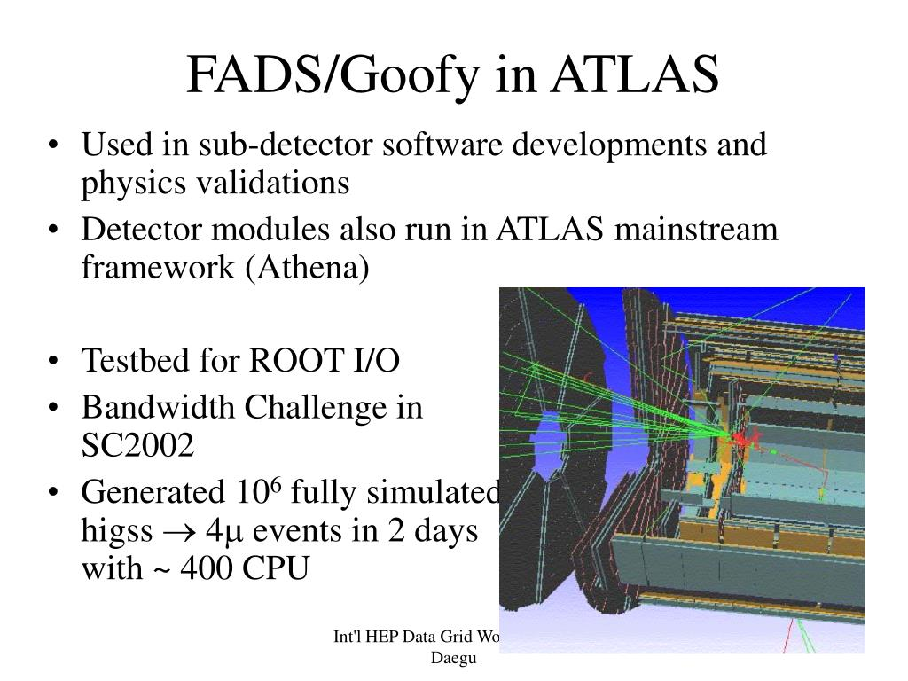 FADS/Goofy in ATLAS